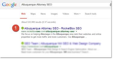 Albuquerque Attorney SEO