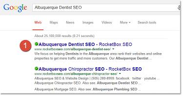 Albuquerque Dentist SEO