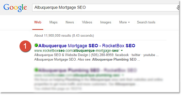 Albuquerque Mortgage SEO